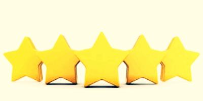 5 Sterne für das Physioteam