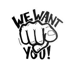 Wir suchen engagierte Mitarbeiter