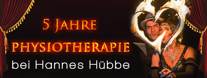 5 Jahre Physiotherapie bei Hannes Hübbe